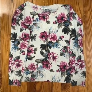 Joie Floral Sweater